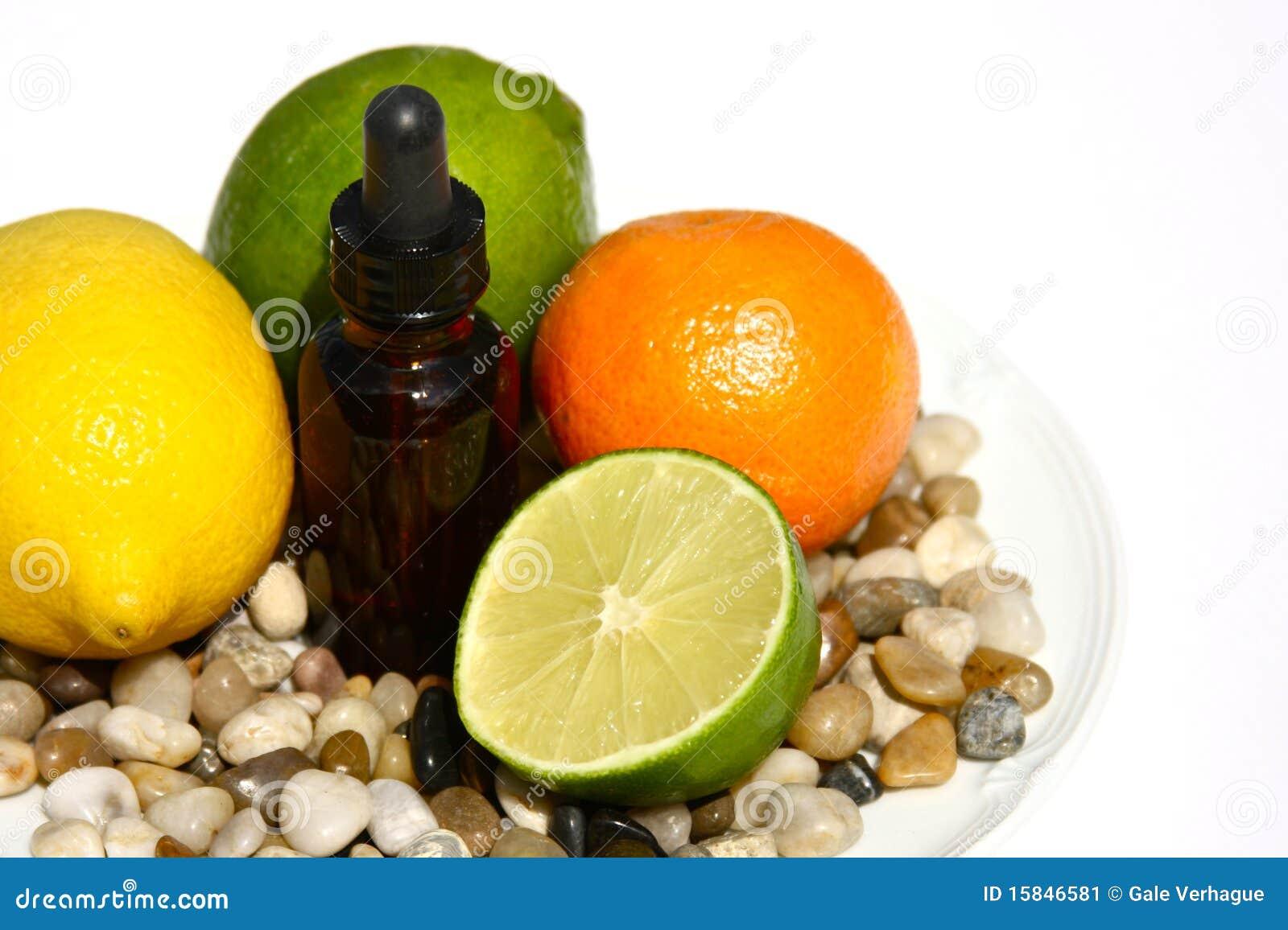 Citrusvrucht Aromatherapy