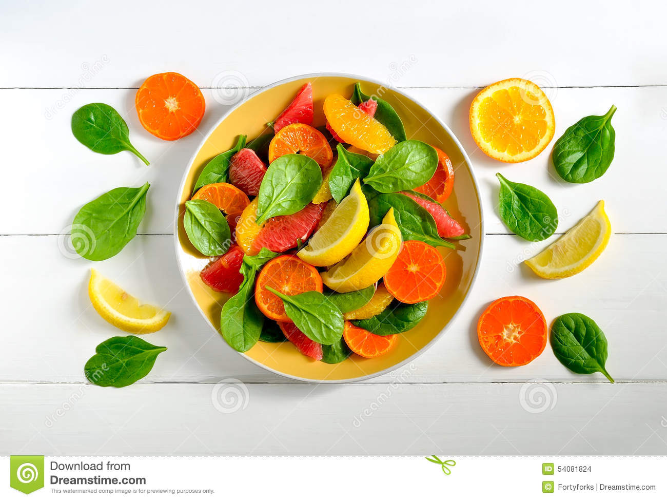 Citrusvruchtensalade