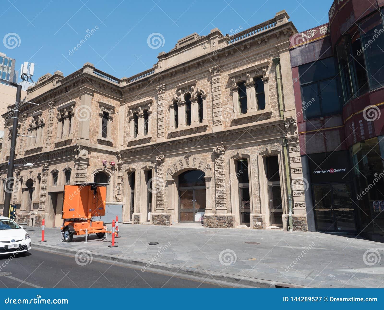 Città australiana del sud Adelaide di estate