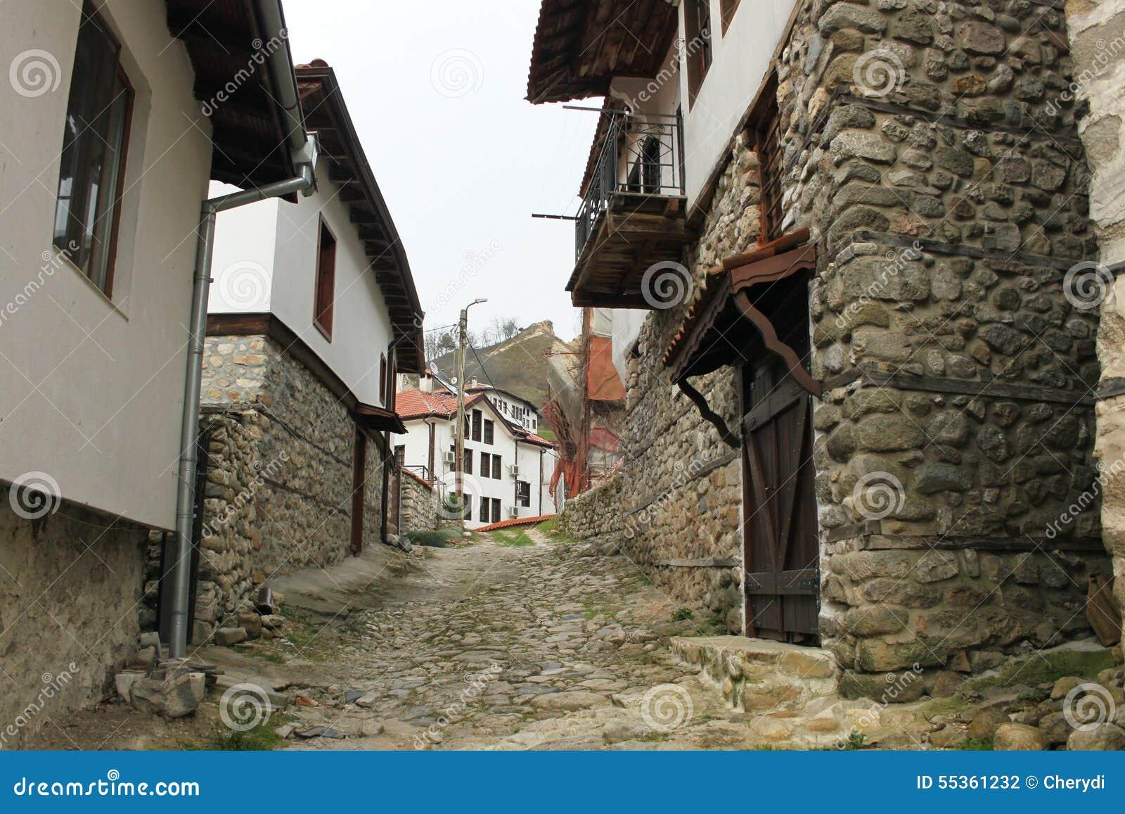 Città bulgara di Melnik