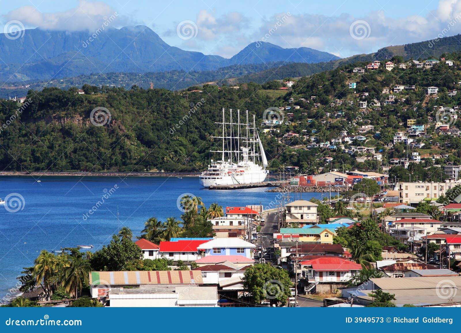 Città caraibica