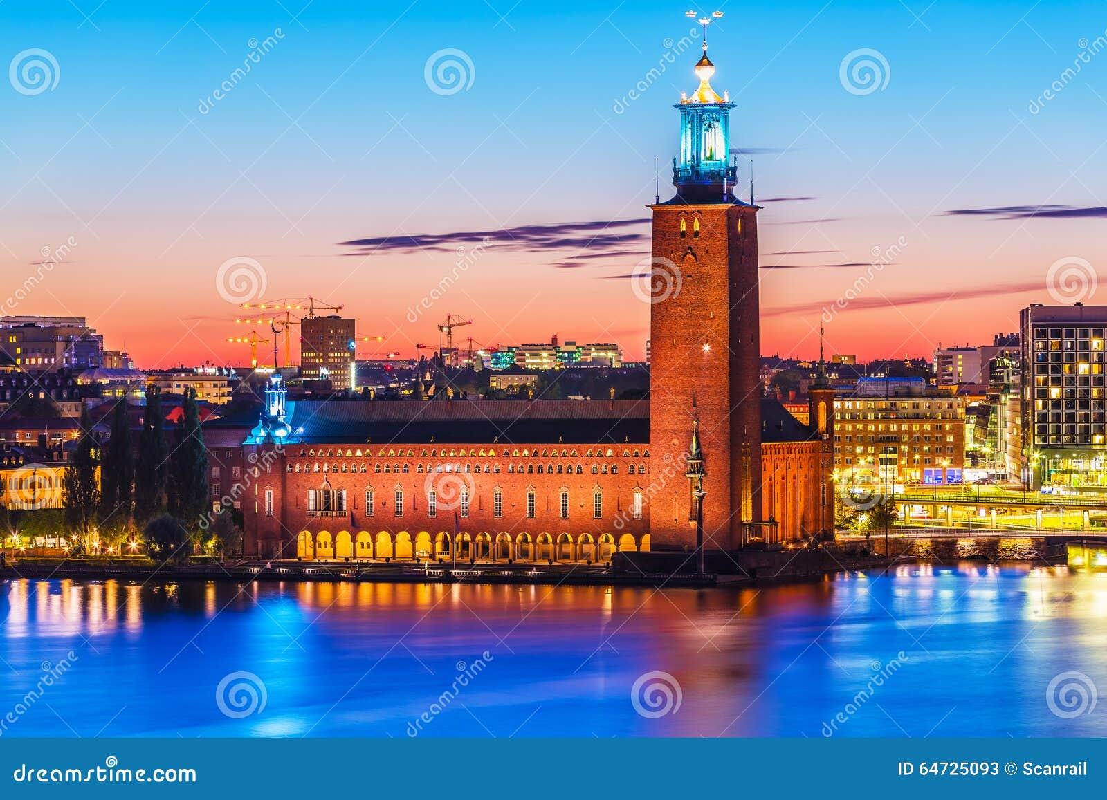 Città corridoio a Stoccolma, Svezia