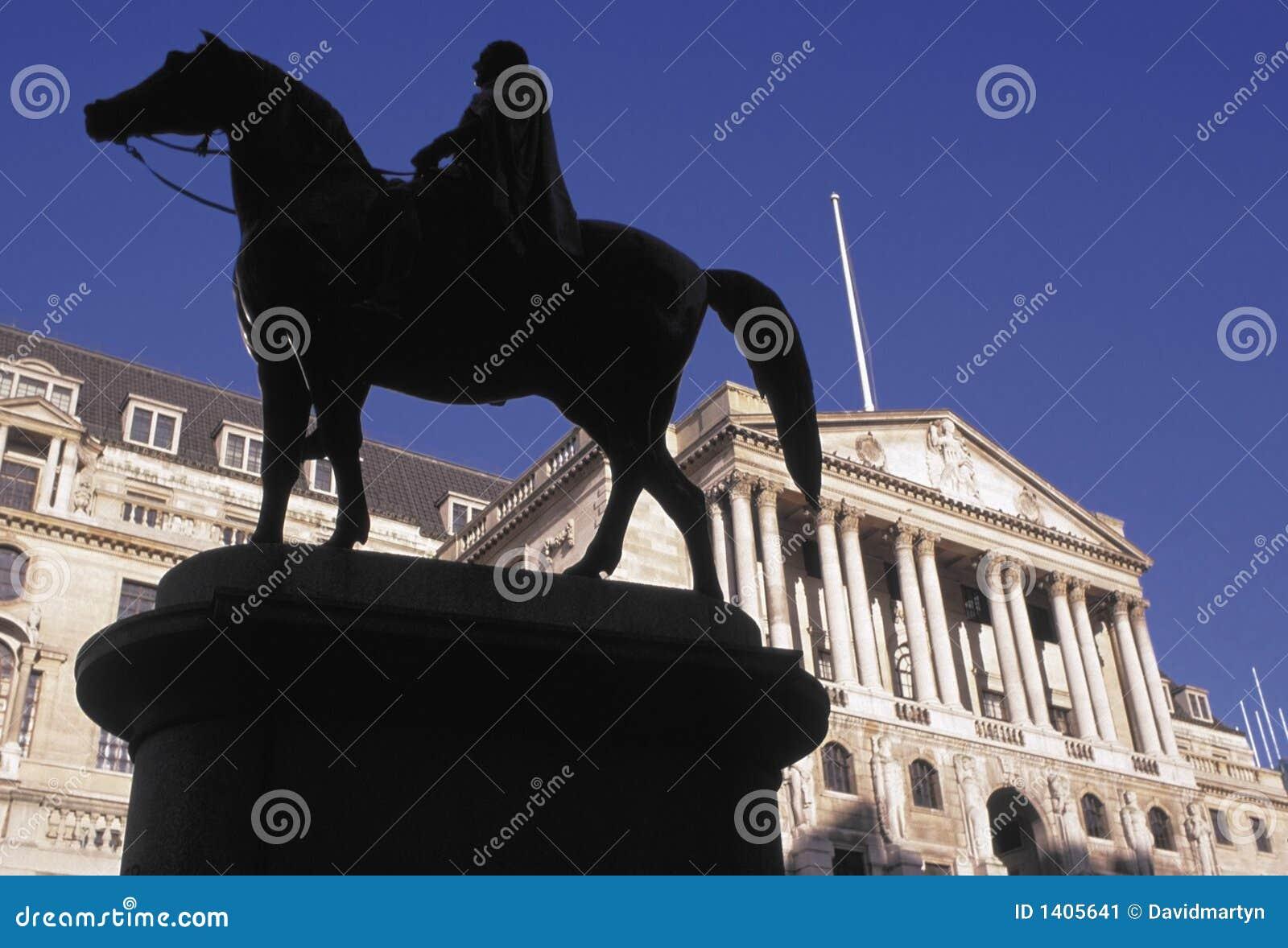 Città della via di Threadneedle della Banca di Inghilterra di Londra Inghilterra
