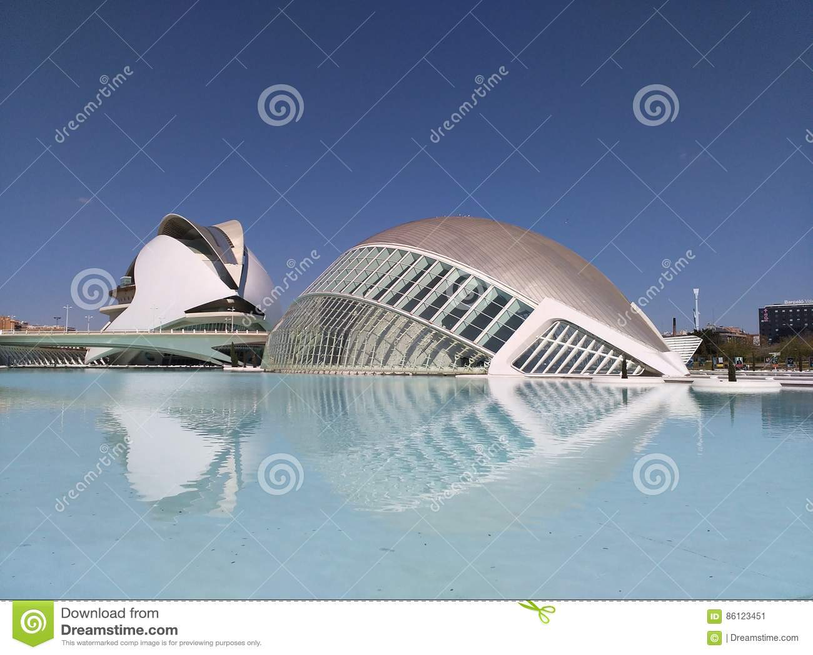 Città delle arti e delle scienze di Valencia