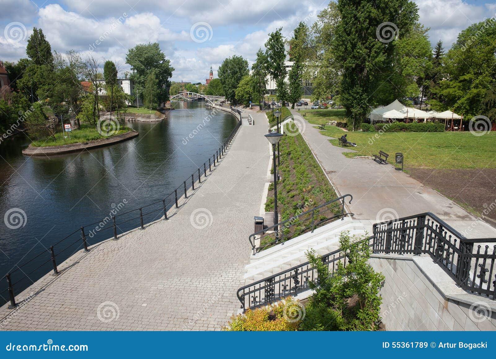 Città di Bydgoszcz in Polonia