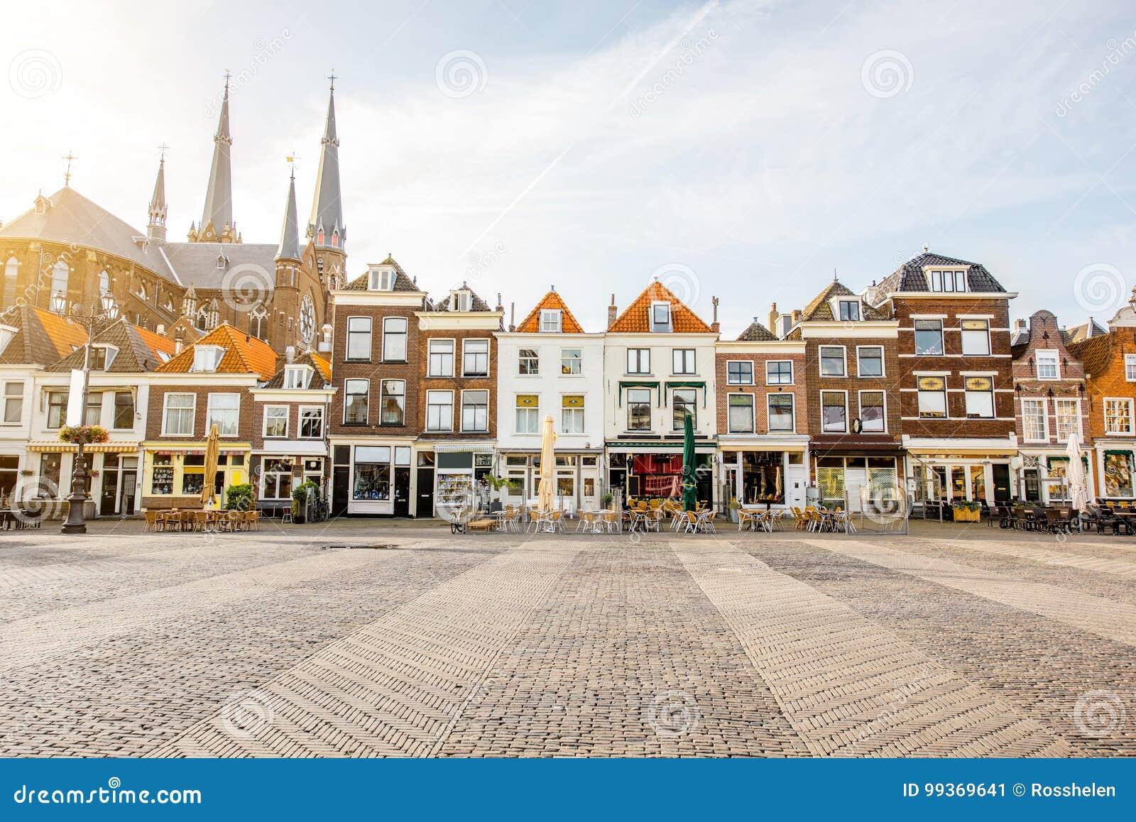 Città di Delft in Netherland