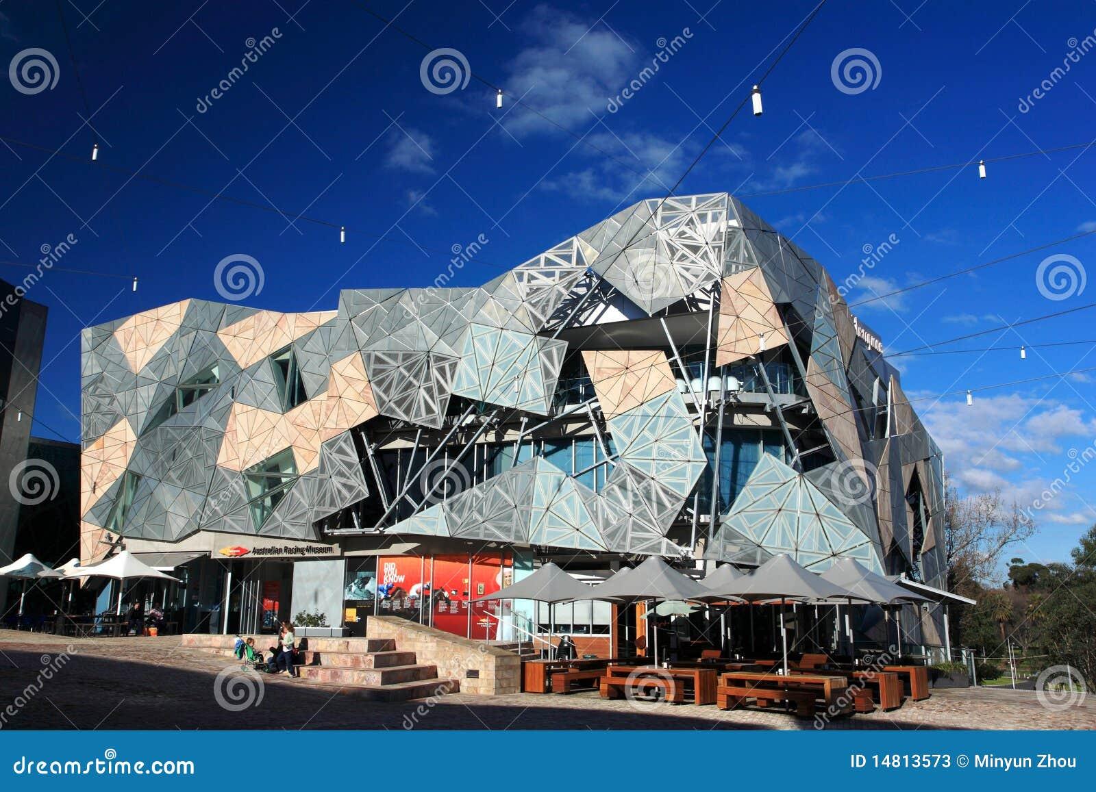 Città di federazione Square.Melbourne
