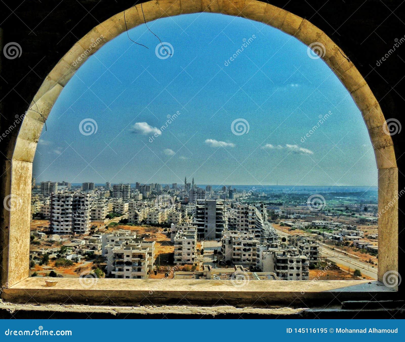 Città di Homs in Siria