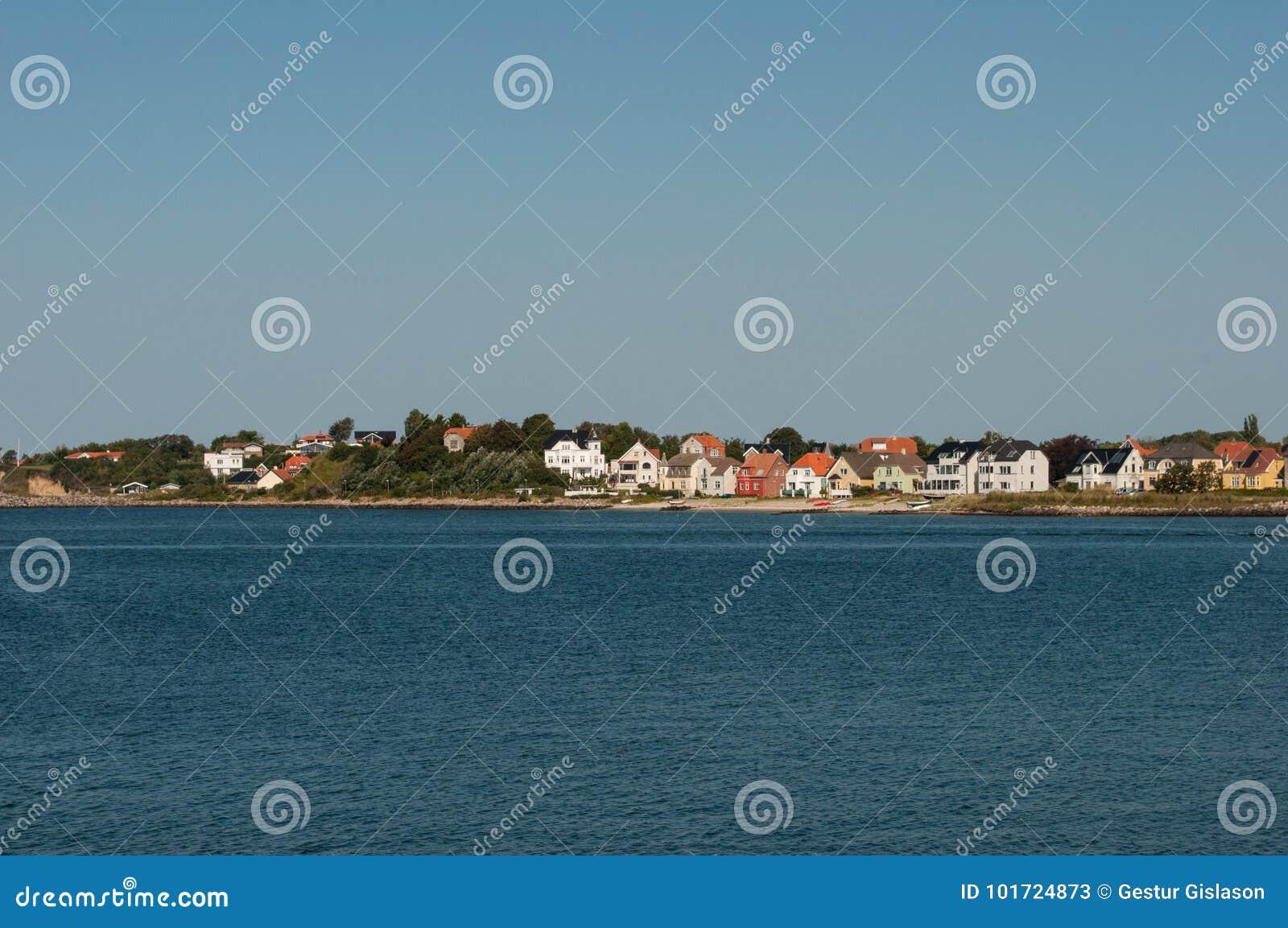 Città di Korsoer in Danimarca
