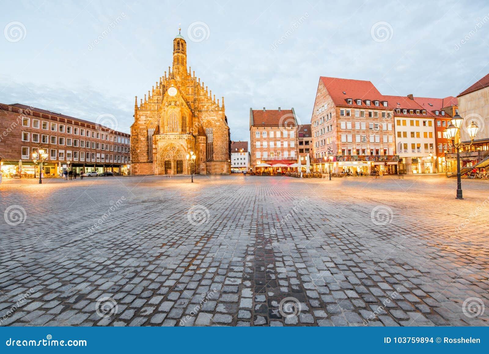 Città di Nurnberg in Germania