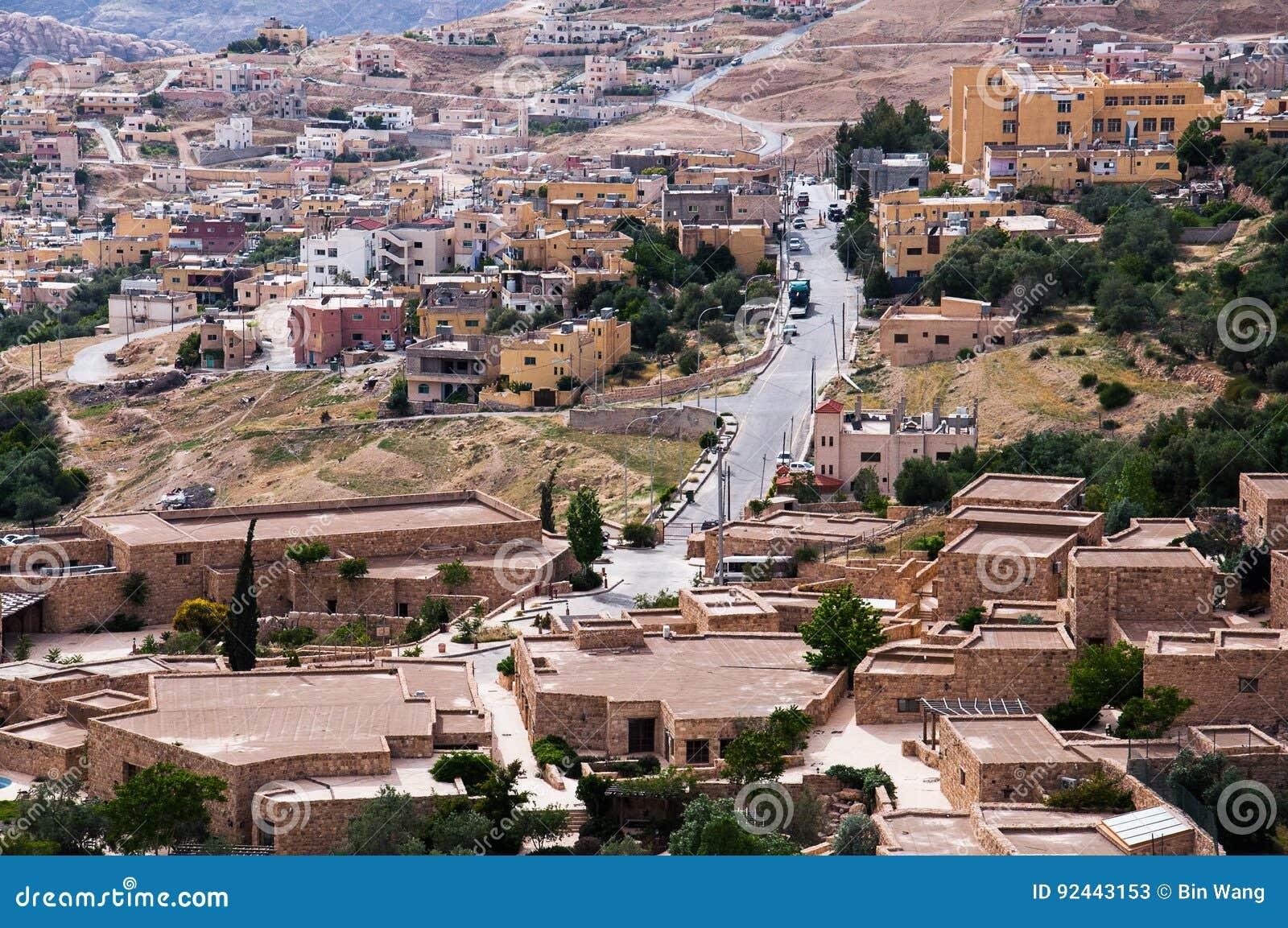 Città di PETRA della Giordania