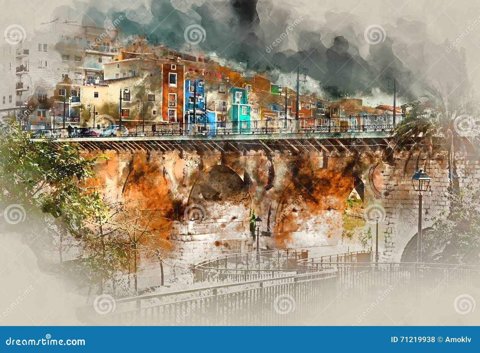 Città di Villajoyosa Costa Blanca spain