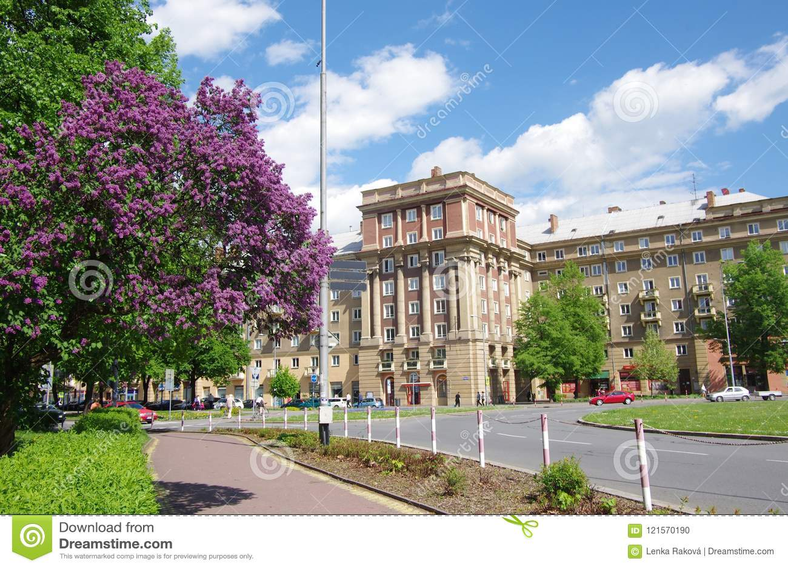 Città a maggio, Ostrava - Poruba