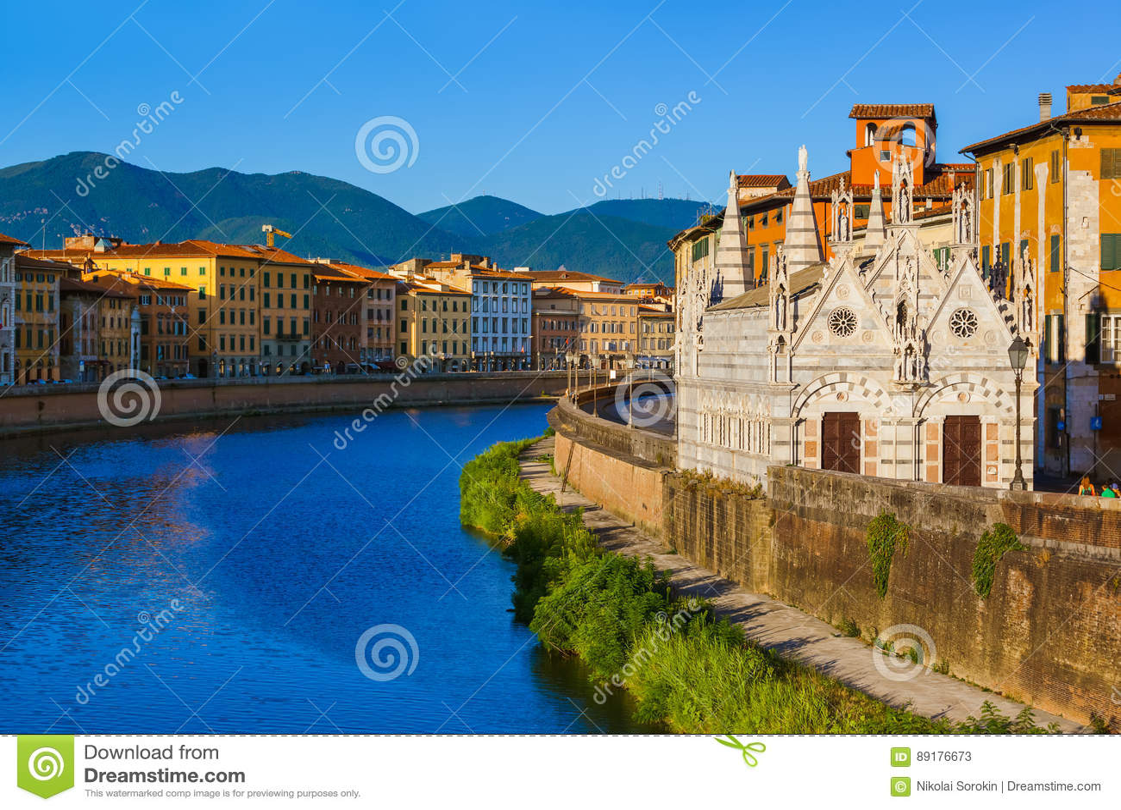 Città a Pisa Italia