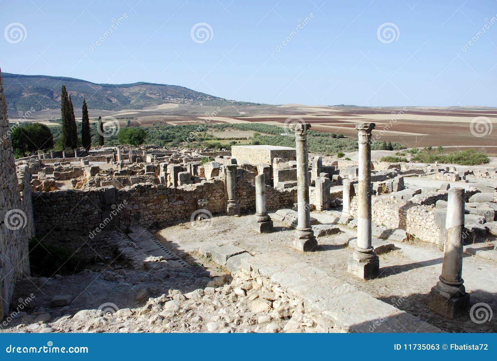 Città romana di Volubilis vecchia