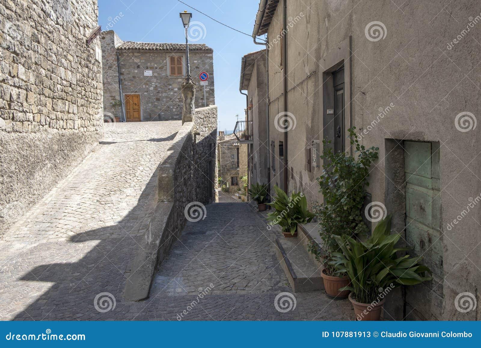Città storica di Baschi Umbria, Italia