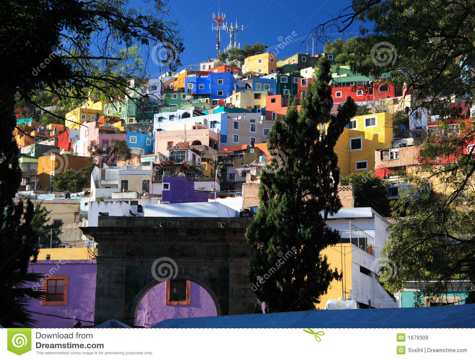 Città storica di Guanajuato, Messico