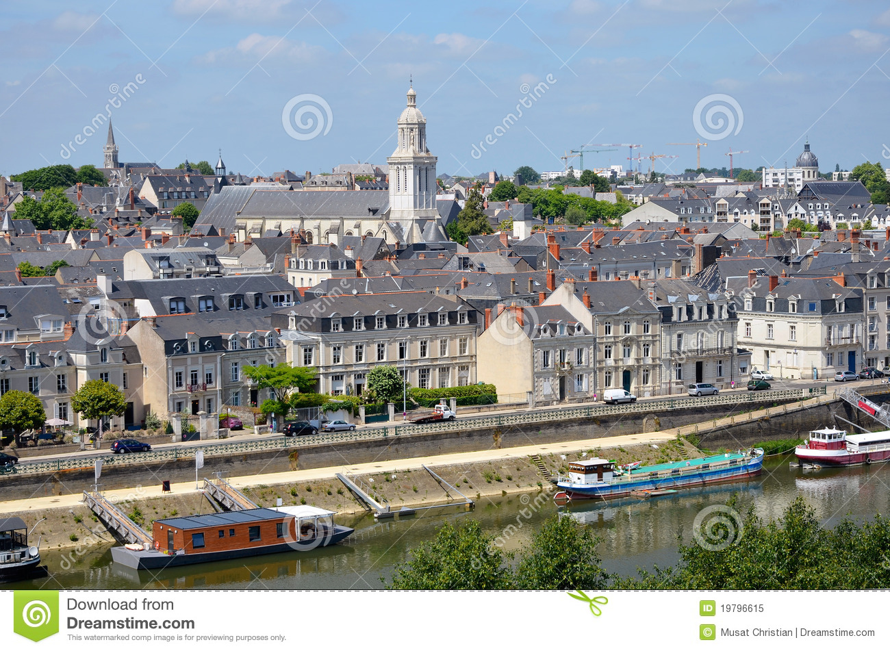 City of angers in france royalty free stock photo image 19796615 - Boutique free angers ...
