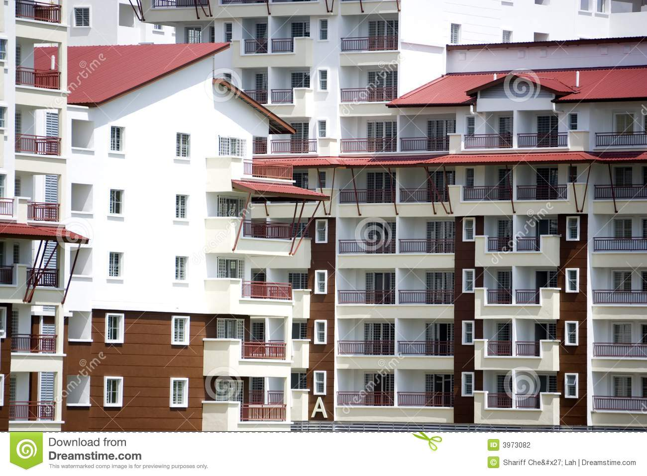 city apartment buildings stock photography image 3973082