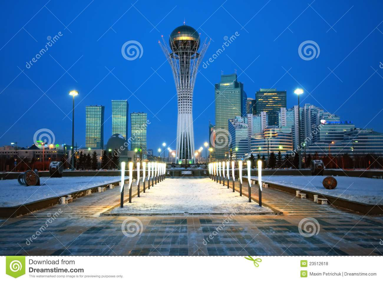City of Astana - the capital of Kazakhstan