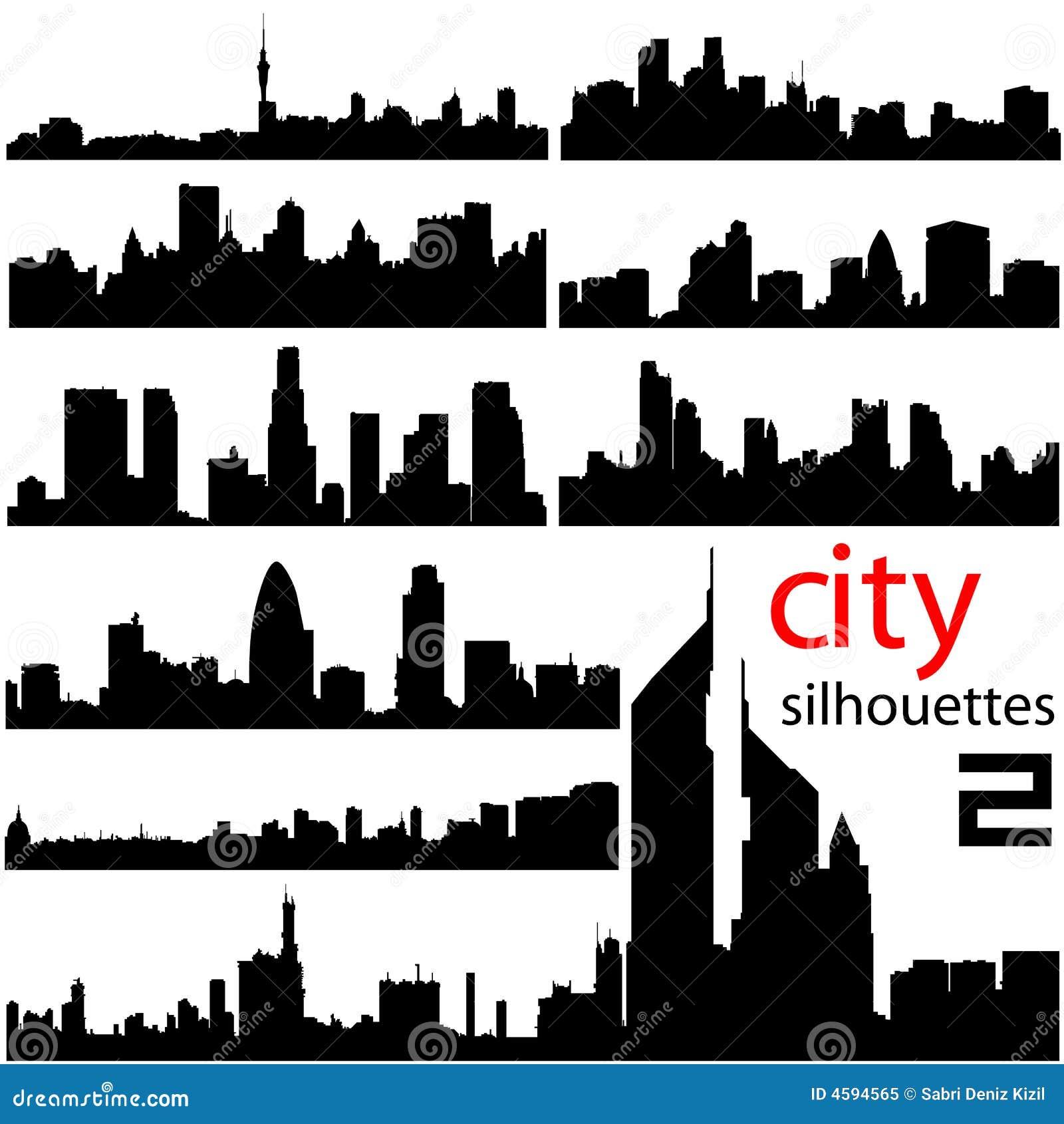 City background 2 vector