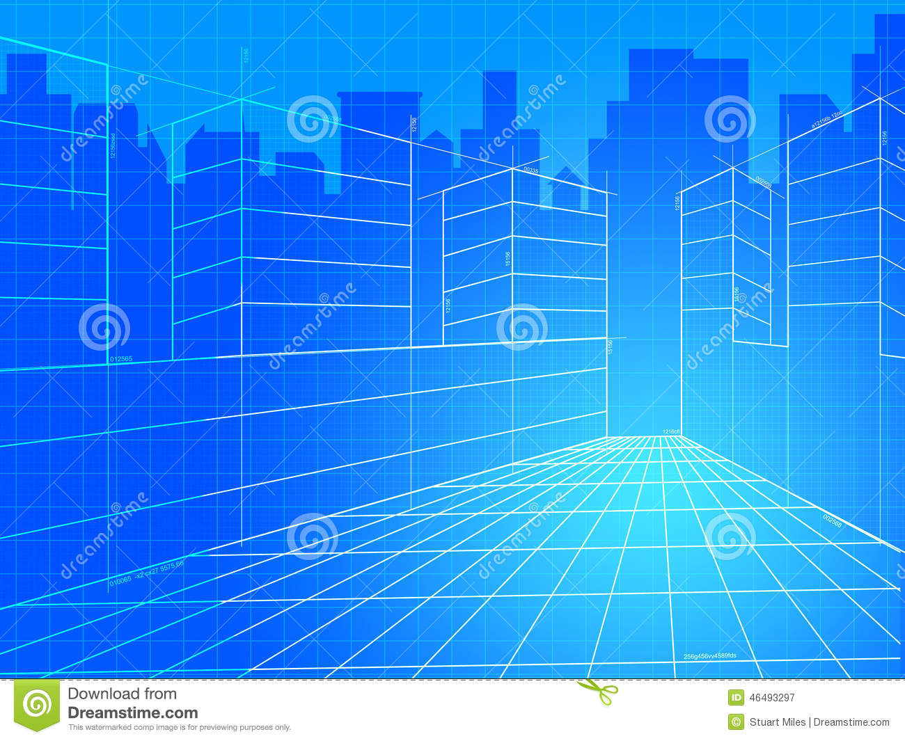 City Background Means Commercial Backgrounds And Corporation
