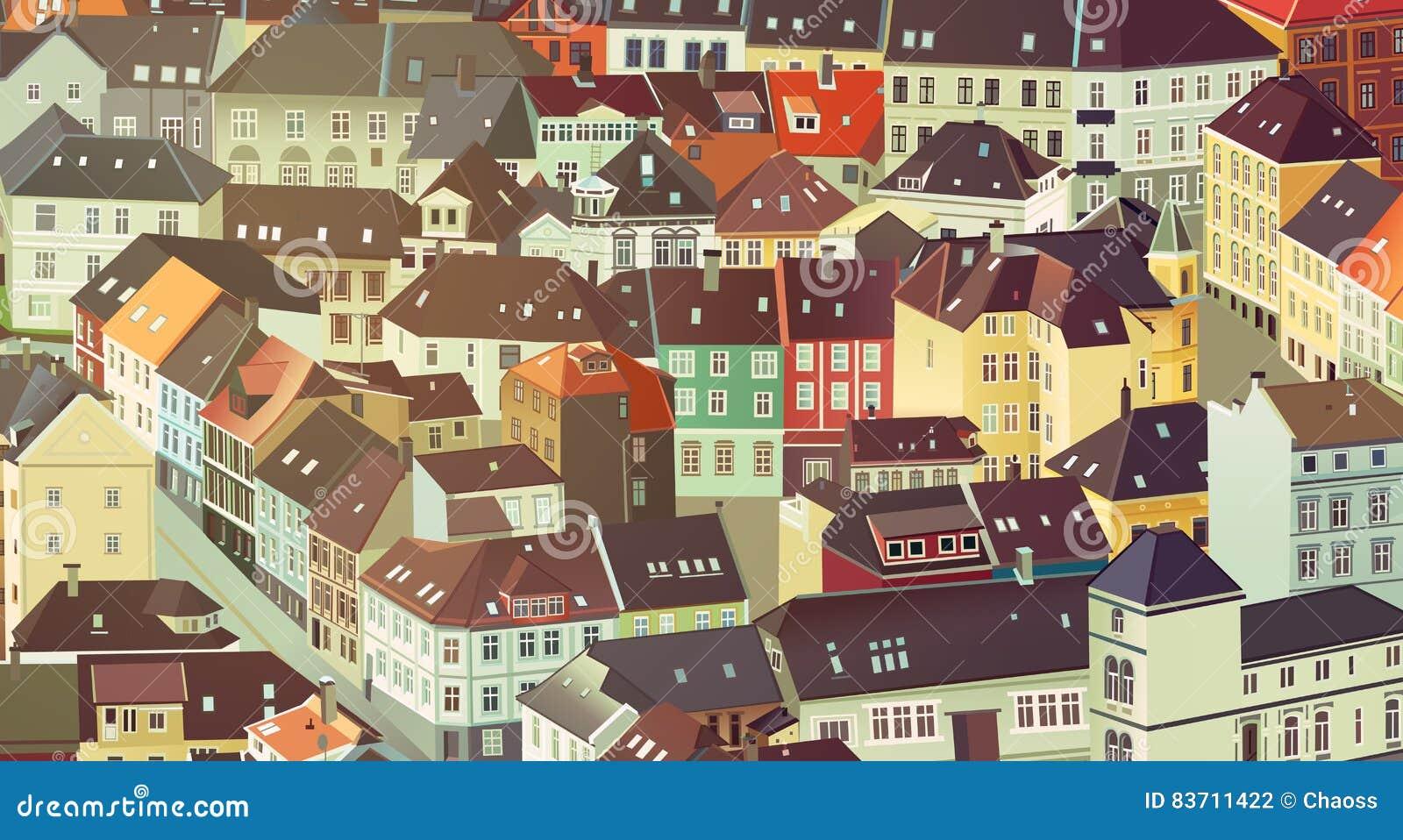 City Background Stock Vector