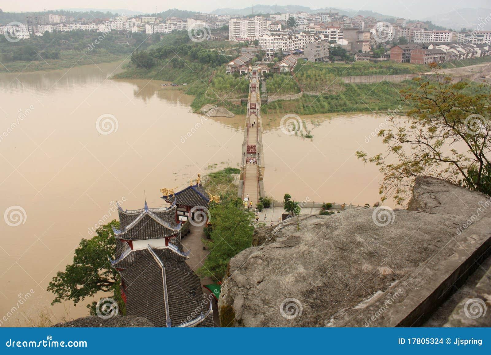 Natural Bridge River Bird S Eye View
