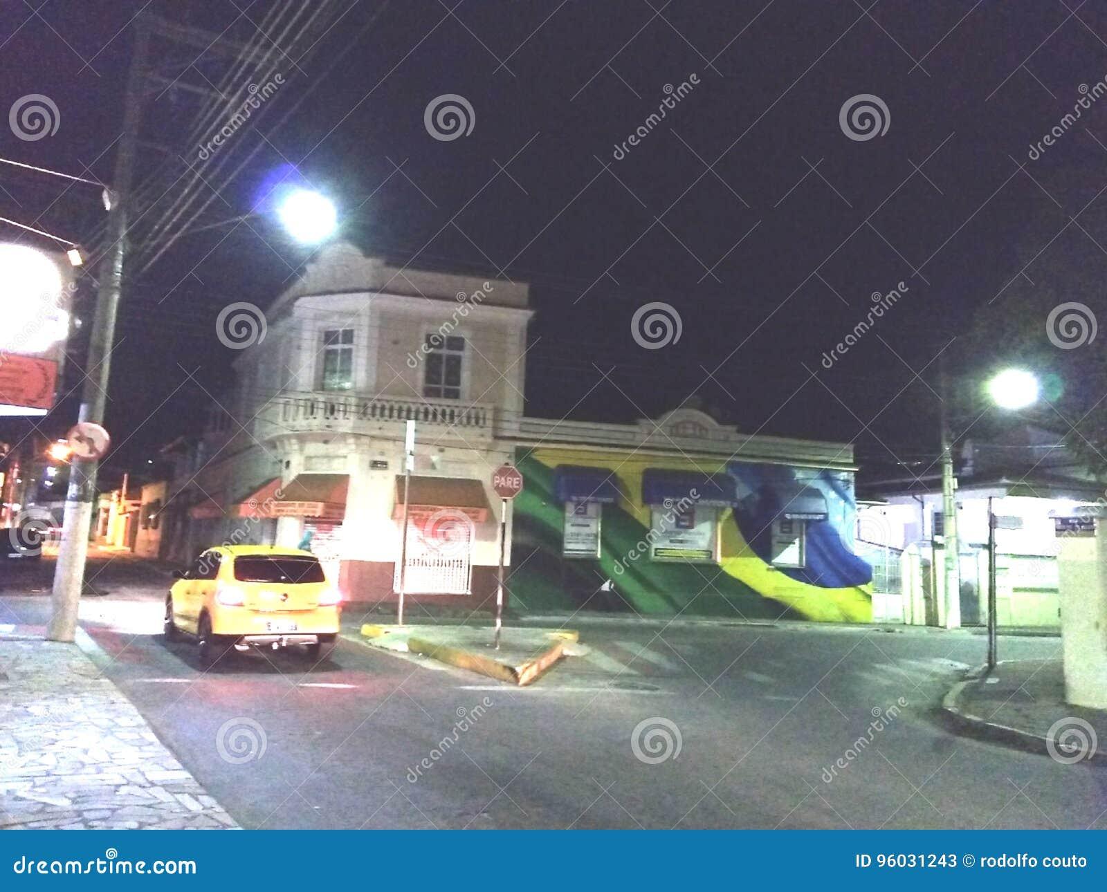 City Brasil Car Editorial Stock Photo Image Of Wall 96031243