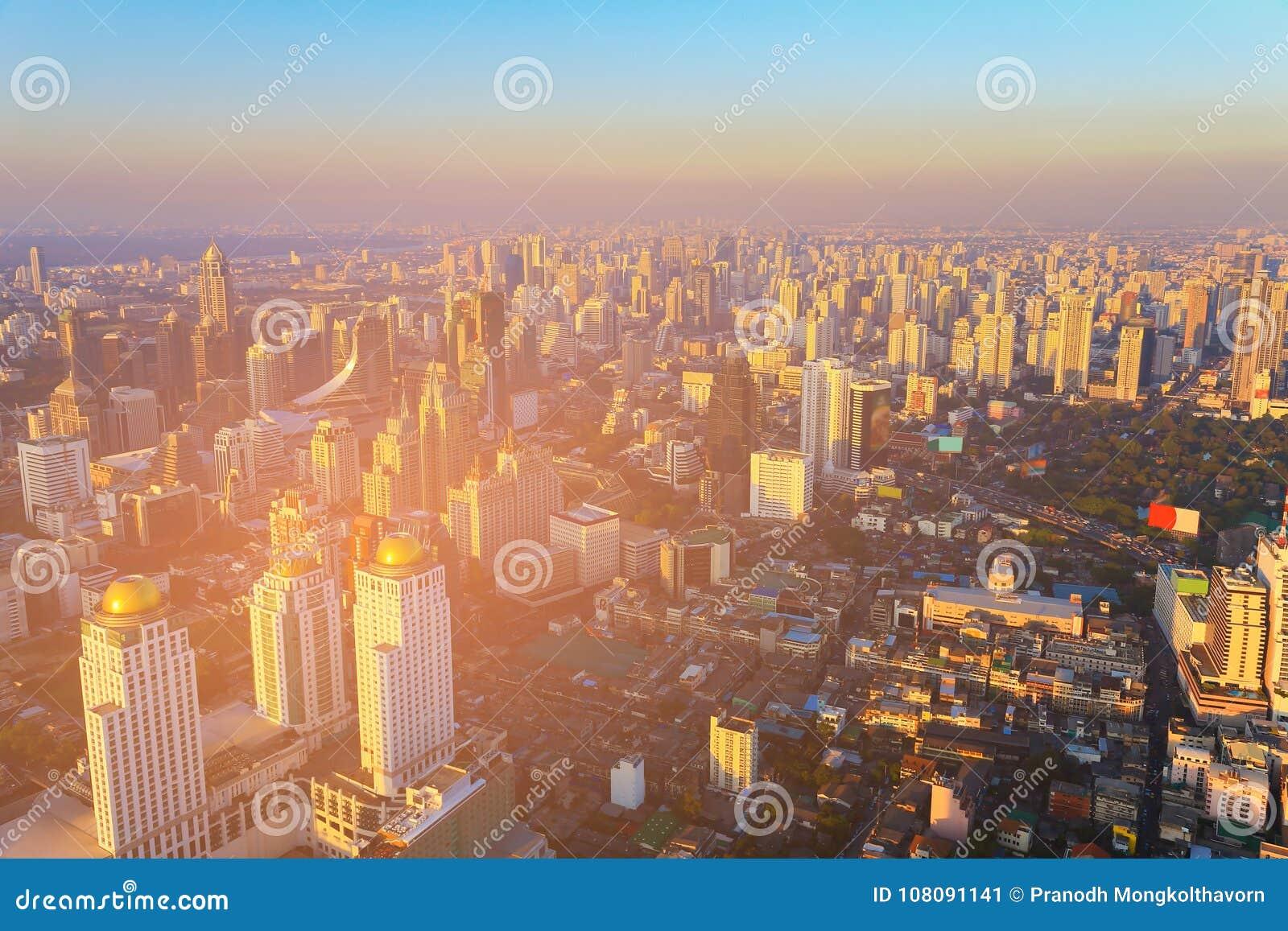 City building downtown skyline