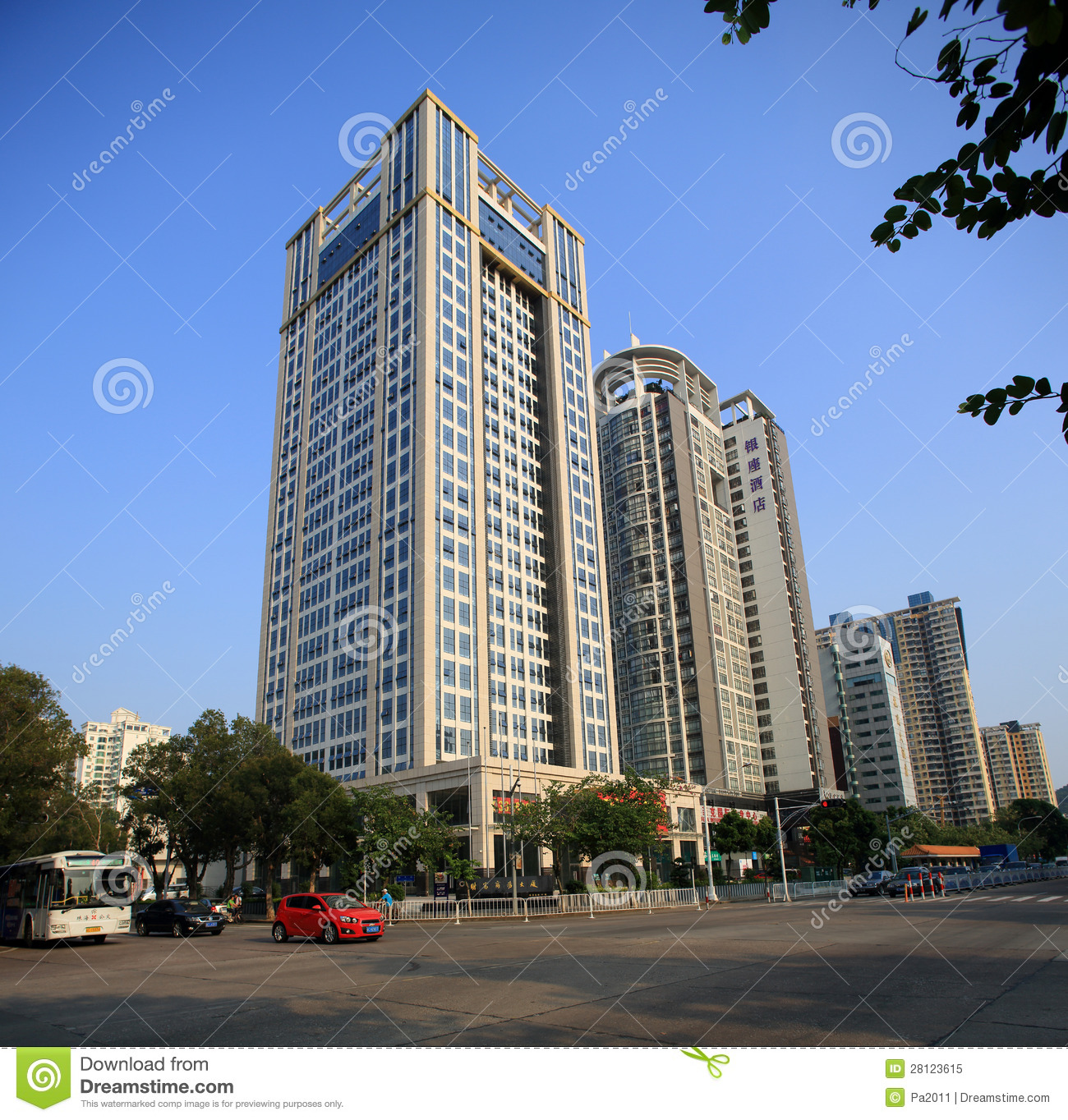 City Building In Zhuhai China Editorial Image Image 28123615
