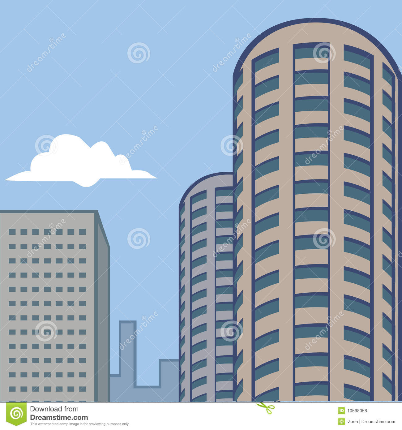 city buildings clipart - photo #10