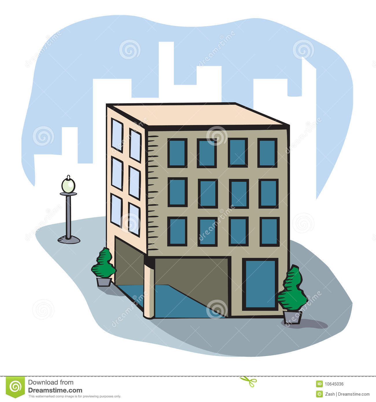 city buildings clipart - photo #19