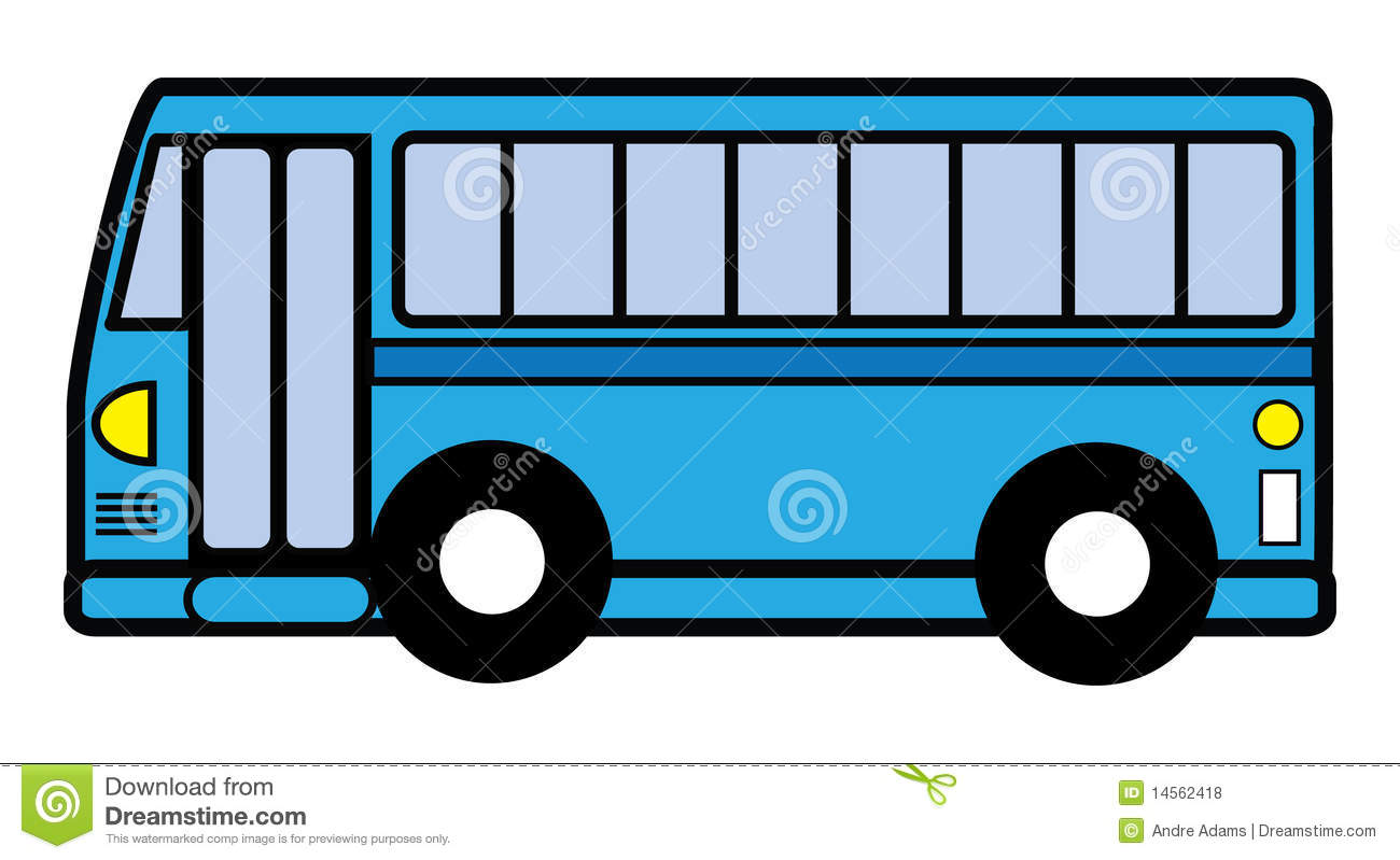Green Buses Clipart