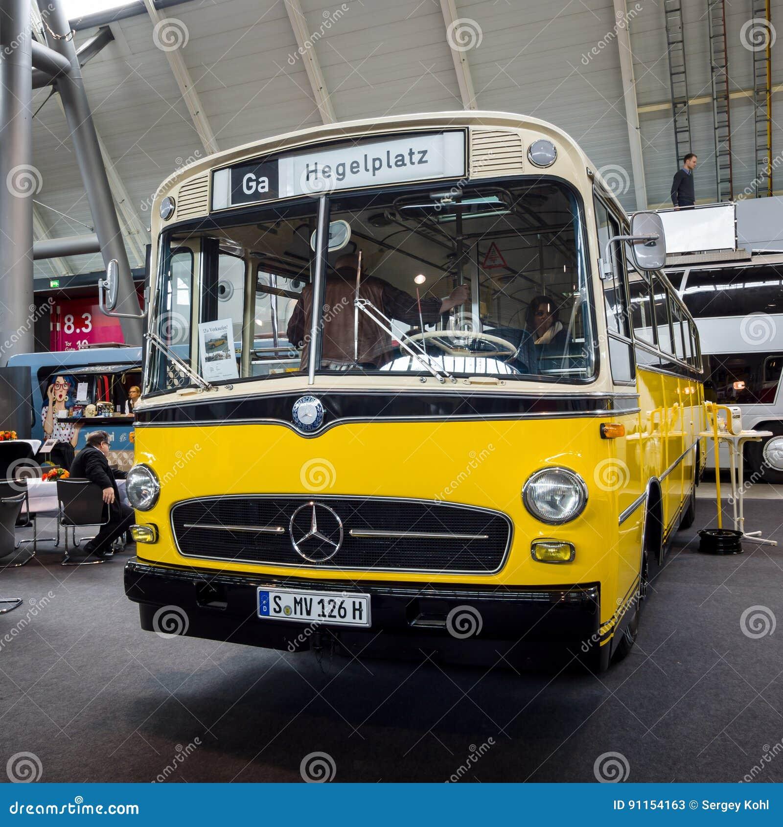 City Bus Mercedes Benz O 322 1961 Editorial Stock Photo Image Of