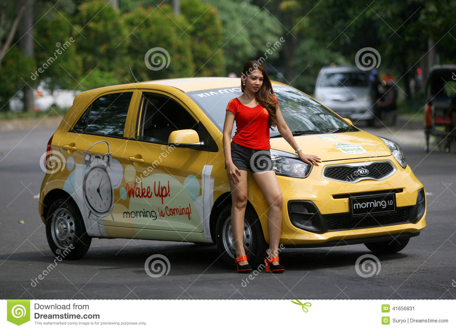City Car Editorial Photo Image 41656831