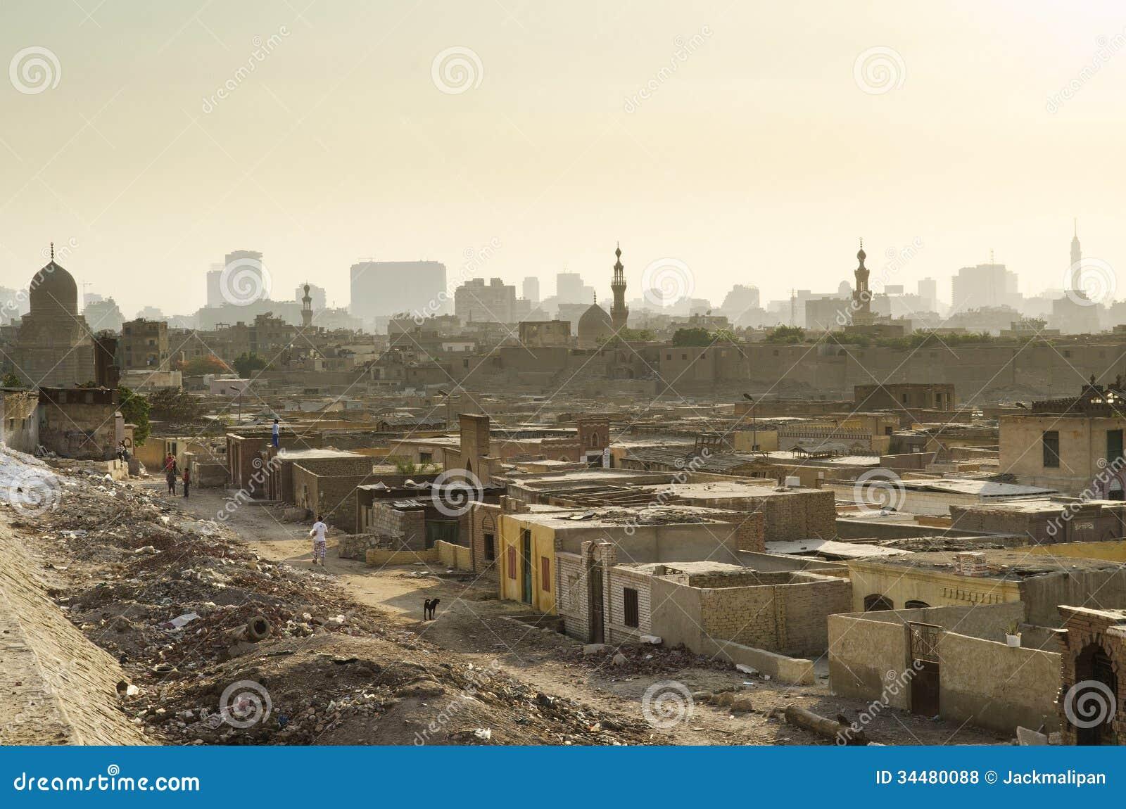 City Of The Dead Slum In Cairo Egypt Royalty Free Stock Photos