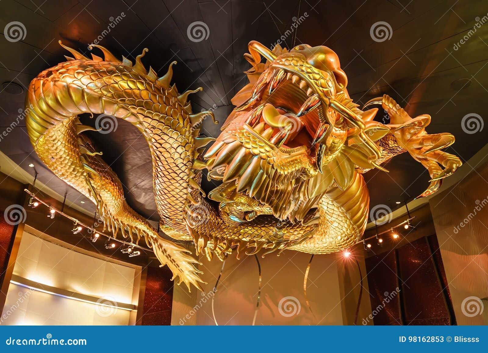 6856244d126e3 City Of Dreams Casino Golden Dragon Chasing Flaming Pearl
