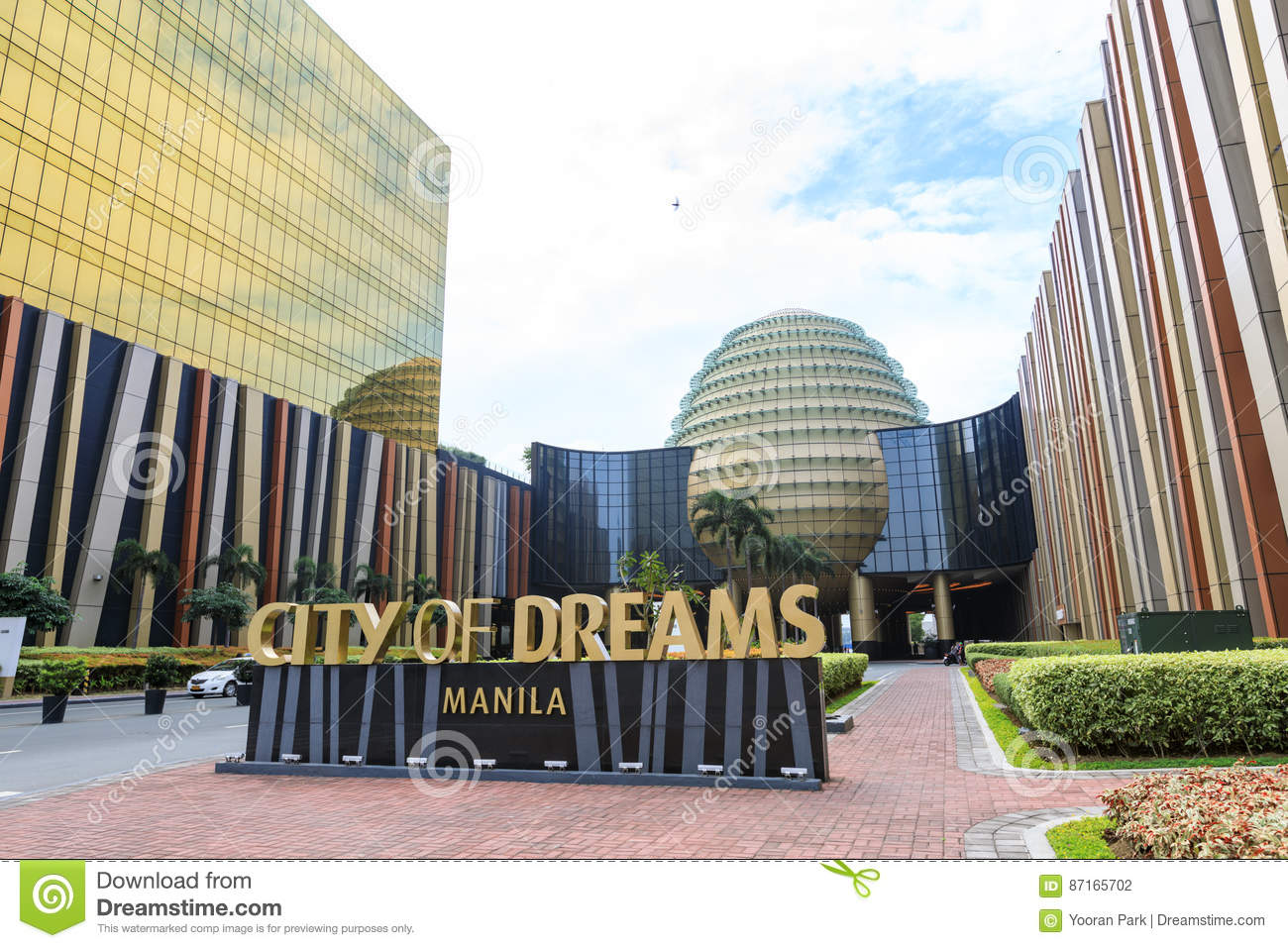 City of Dreams in Manila editorial photography  Image of luxury