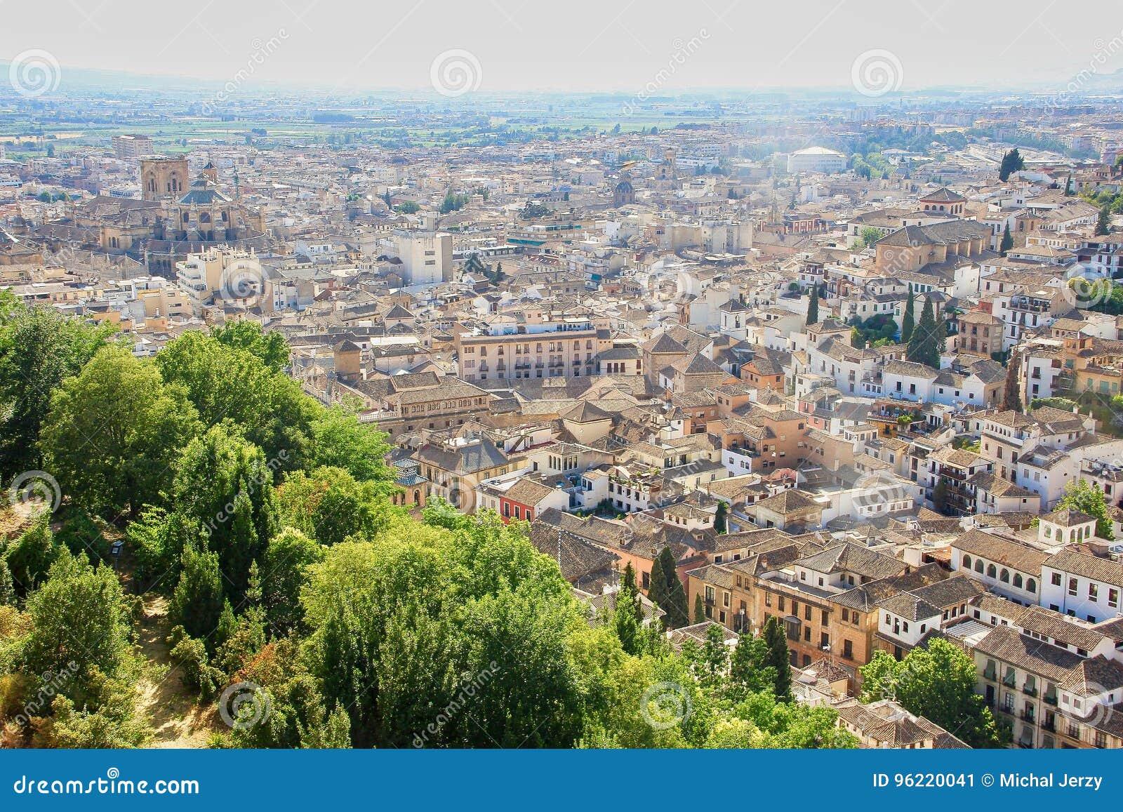 The city of Granada in Spain