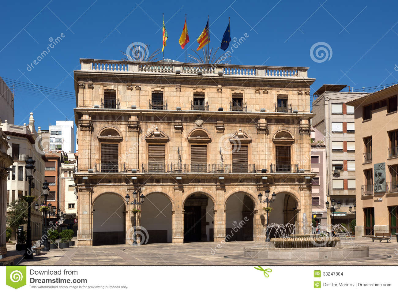 Castellon de la Plana Spain  city images : City hall of Castellon de la Plana, Spain.