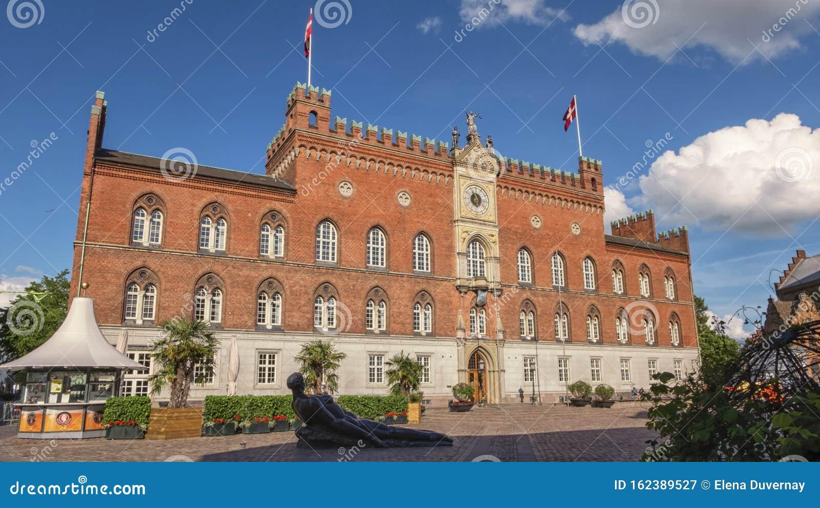 City Hall in Odense, island of Funen, Denmark