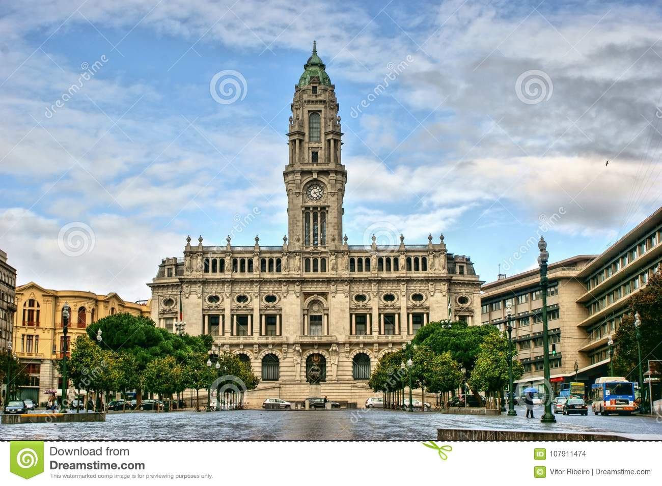 City Hall of Oporto