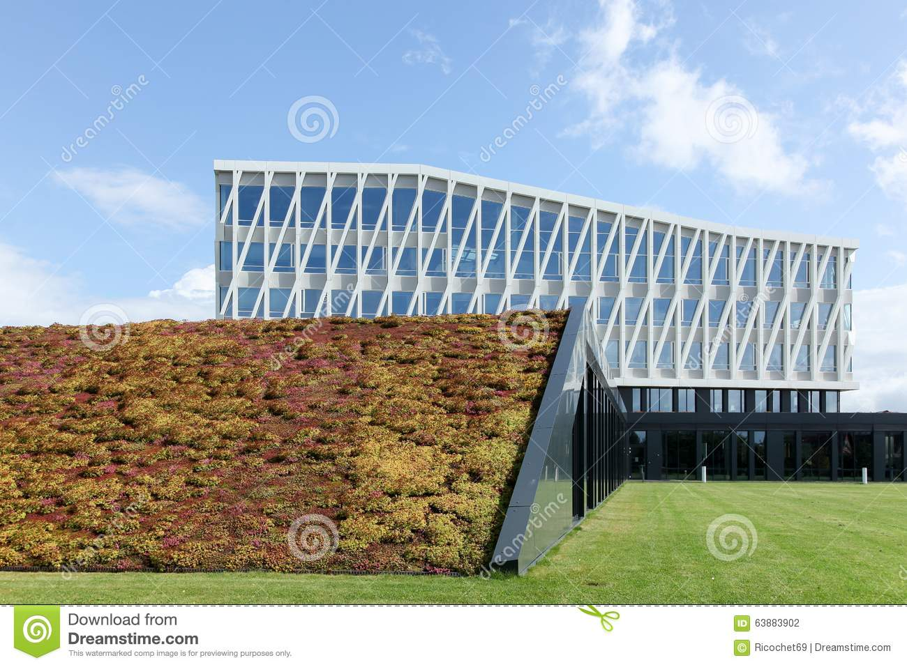 City hall of viborg in denmark editorial photography for International architecture firms
