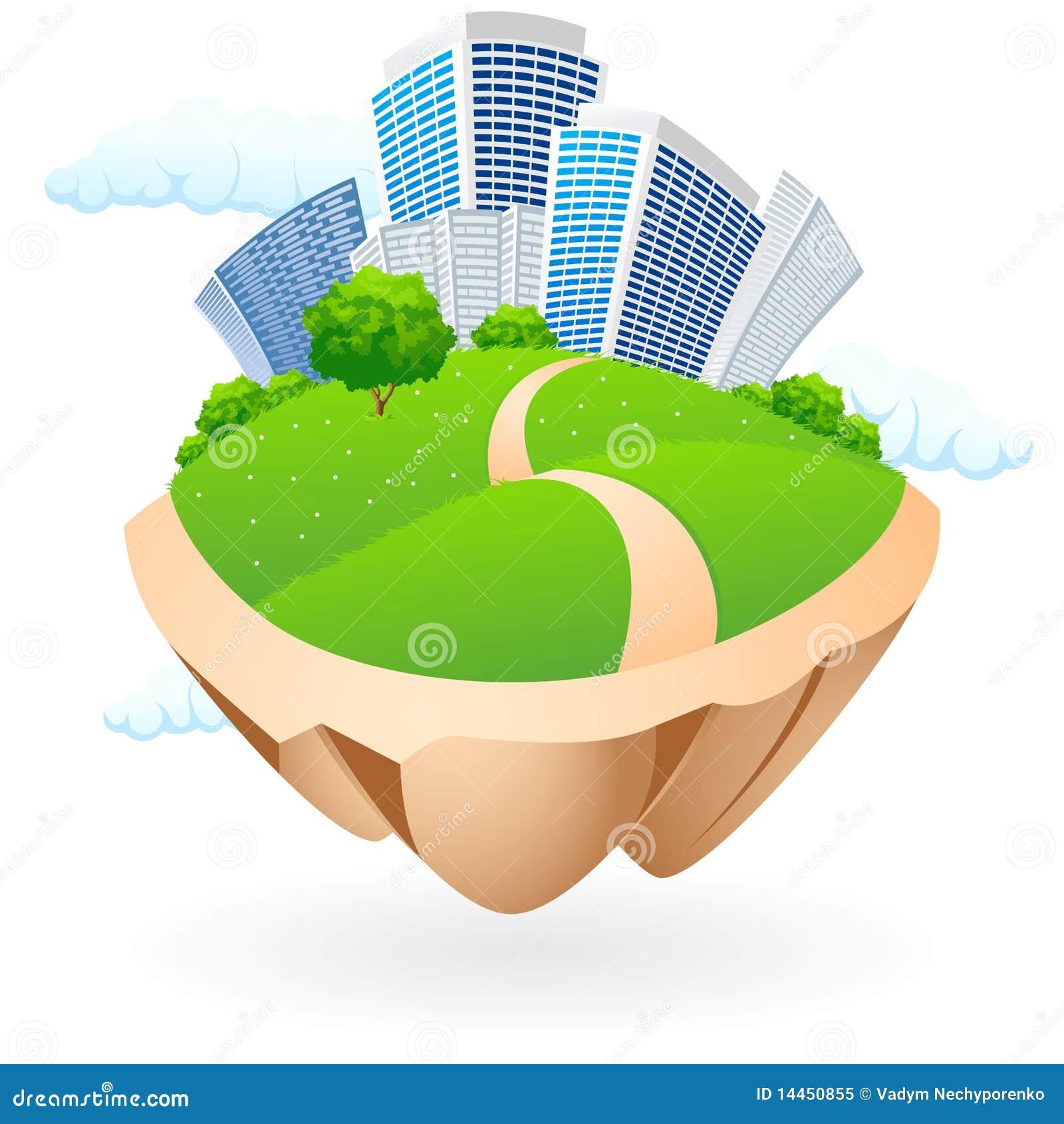 City Icon Royalty Free Stock Photo - Image: 14450855