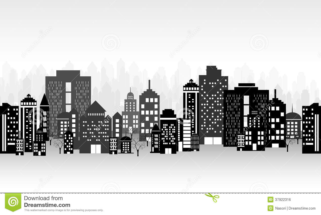 City Landscape Royalty Free Stock Image - Image: 37922316