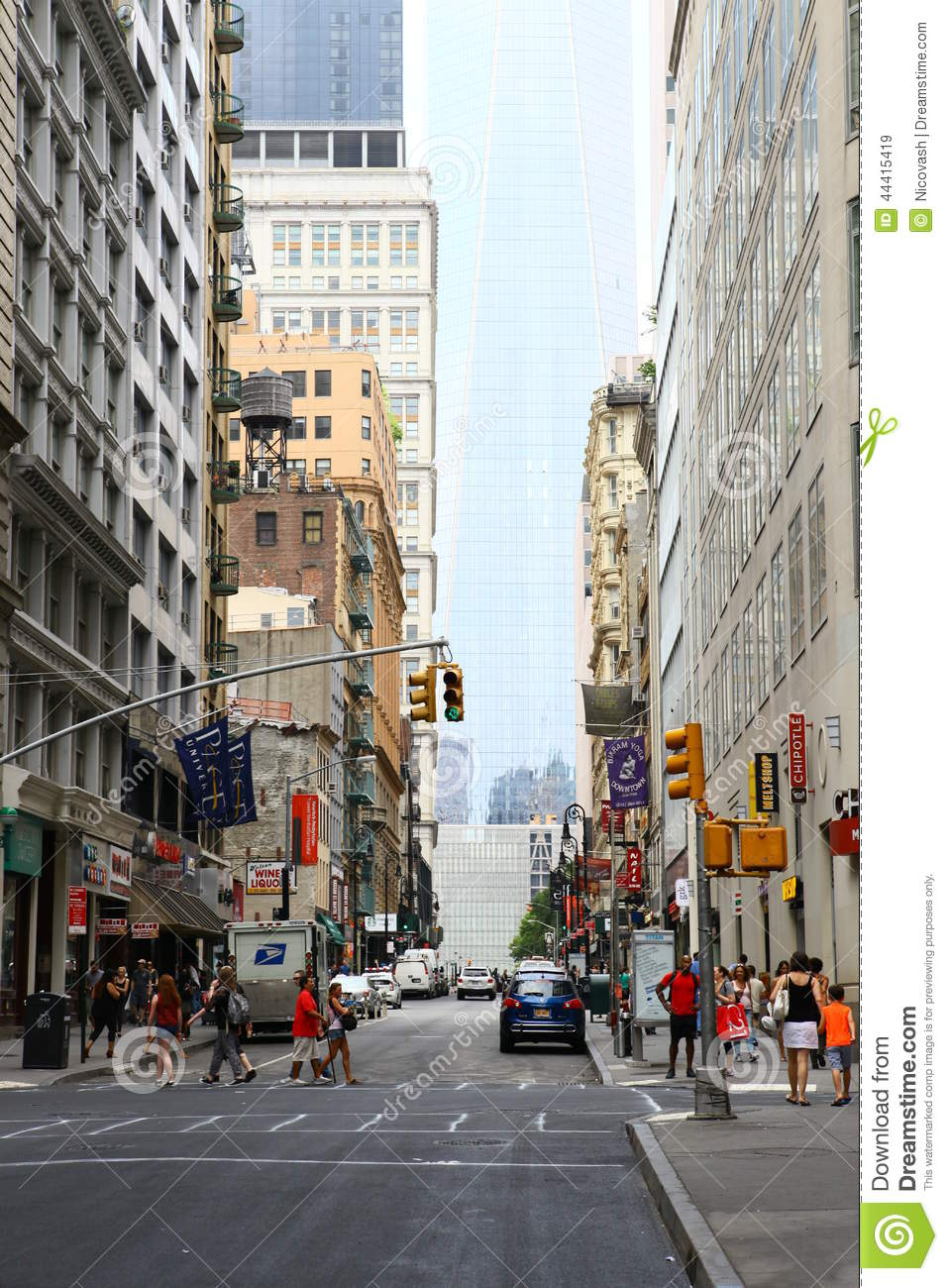 City Life Of New York Editorial Stock Image. Image Of Life