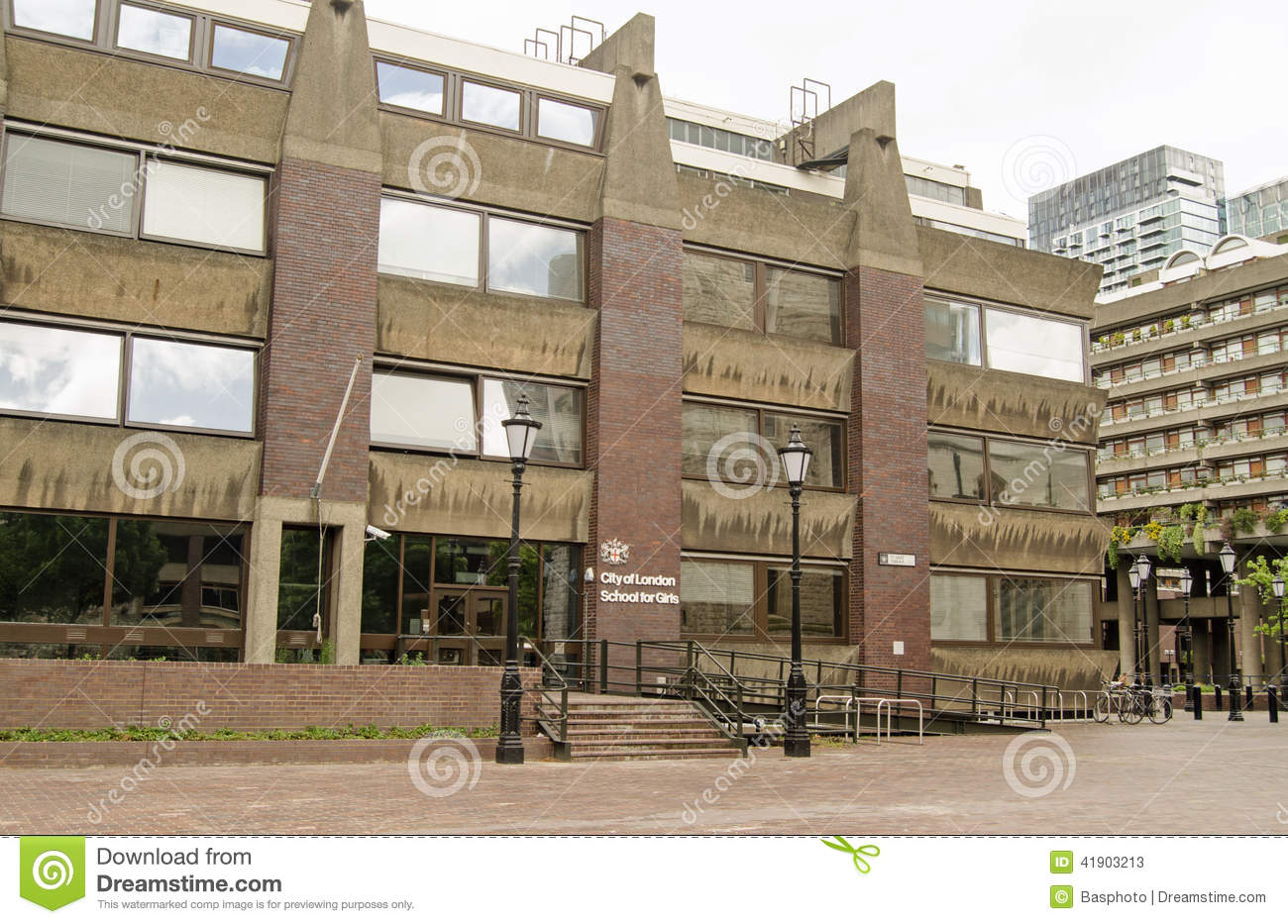 City Of London School For Girls Barbican Editorial Stock Photo Image Of Secondary London 41903213