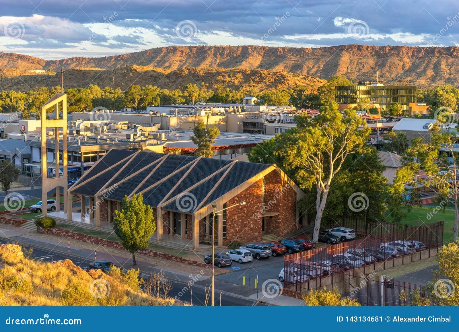 The Oasis, Alice Springs, Northern Territory.   Australian