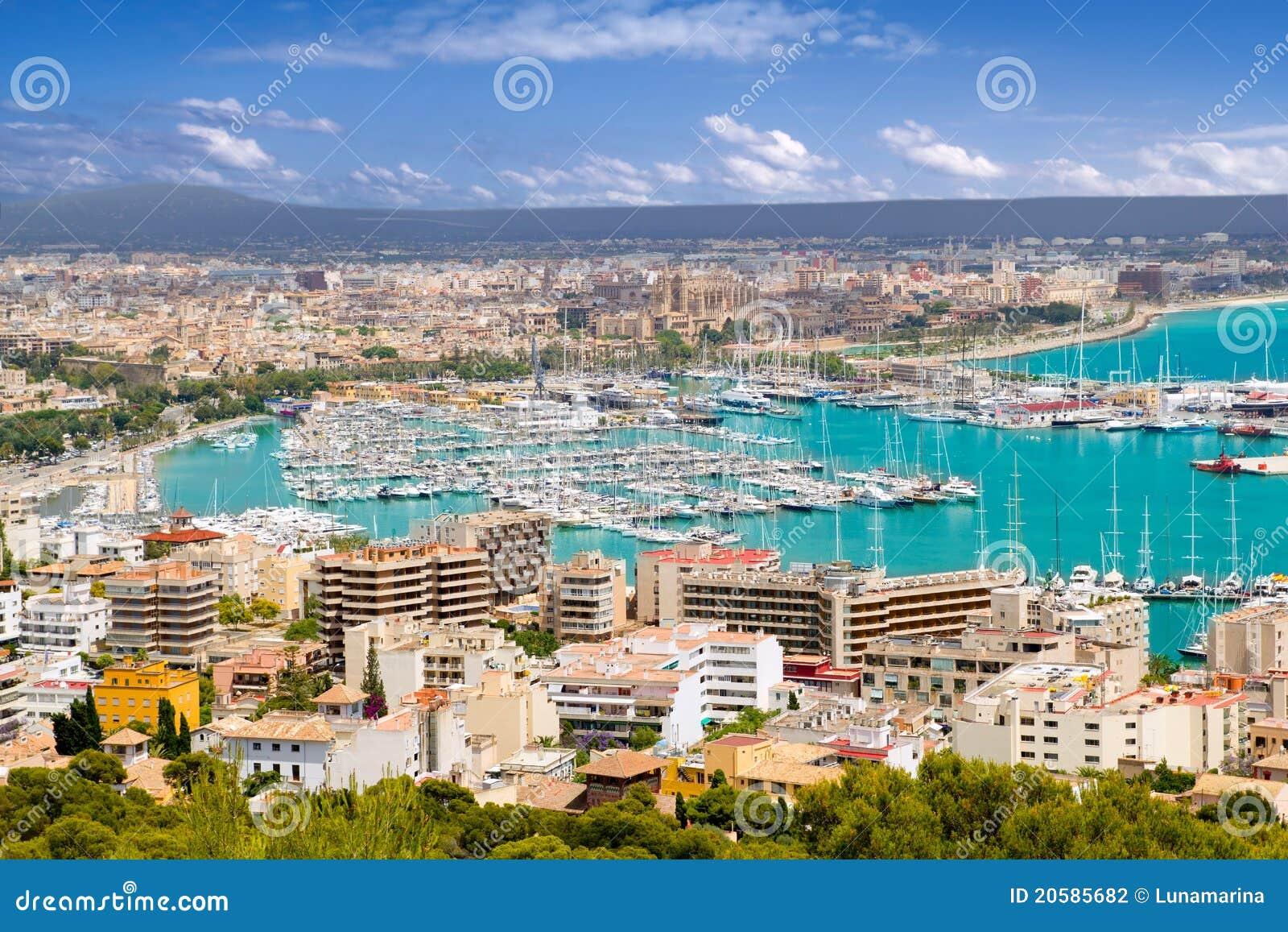 City in Majorca Balearic island